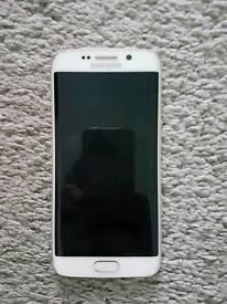 Samsung galaxy S6 Edge -white