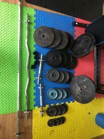 Weights gym equipment