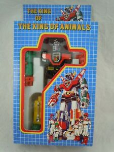 Vintage 1980's Voltron Lion Force KO The King of Animals Mint in Original Box