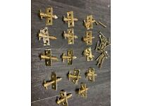 14 brass sash window bead screws with screws £2 each or all for £25 Window Furniture