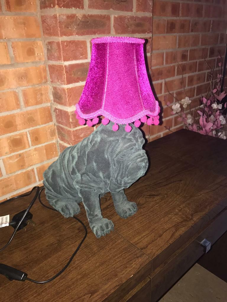 Designer Abigail Ahern Bulldog Lamp In Norwich Norfolk