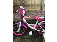 Girls Apollo 14 inch bike
