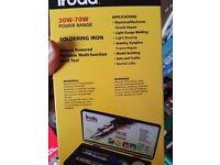 Iroda Solderpro 50 Butane Gas Soldering Iron Kit Set