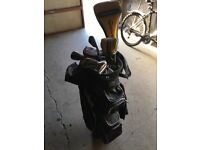 Taylormade RBZ clubs and bag
