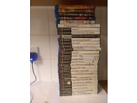 PS2 games bundle 27 games and 5 blu ray movies