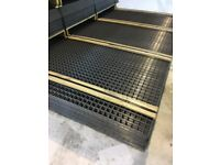 Welded Wire Mesh Panel 2500mm X 1250mm with a 40mm Square