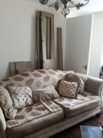 Free three seater sofa must collect from Coylton