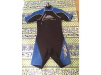 Kids/ Childs Shortie Wetsuit Aged 12 - EXCELLENT