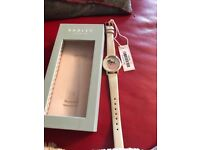 Ladies cream Radley watch.