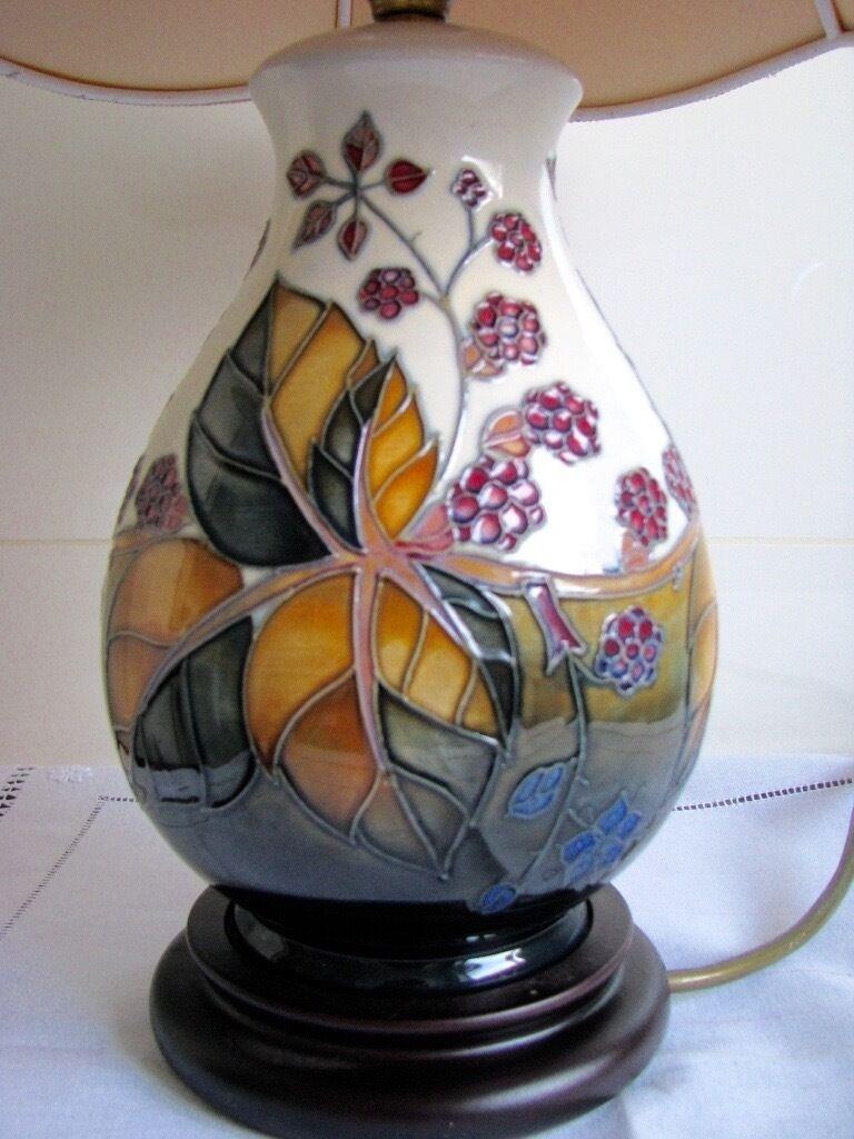 Moorcroft table lamp base in southside glasgow gumtree moorcroft table lamp base aloadofball Images