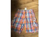 Boy shorts NEW. Age 13/14