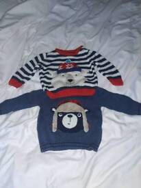 3-6 months boys jumpers