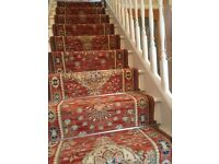Stair runner carpet in good condition