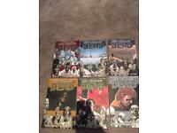 Walking dead comics vol 1-6
