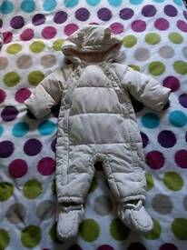 M&S snowsuit 6-9 months
