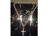 6ct Diamond Belcher chain 114 g 18ct