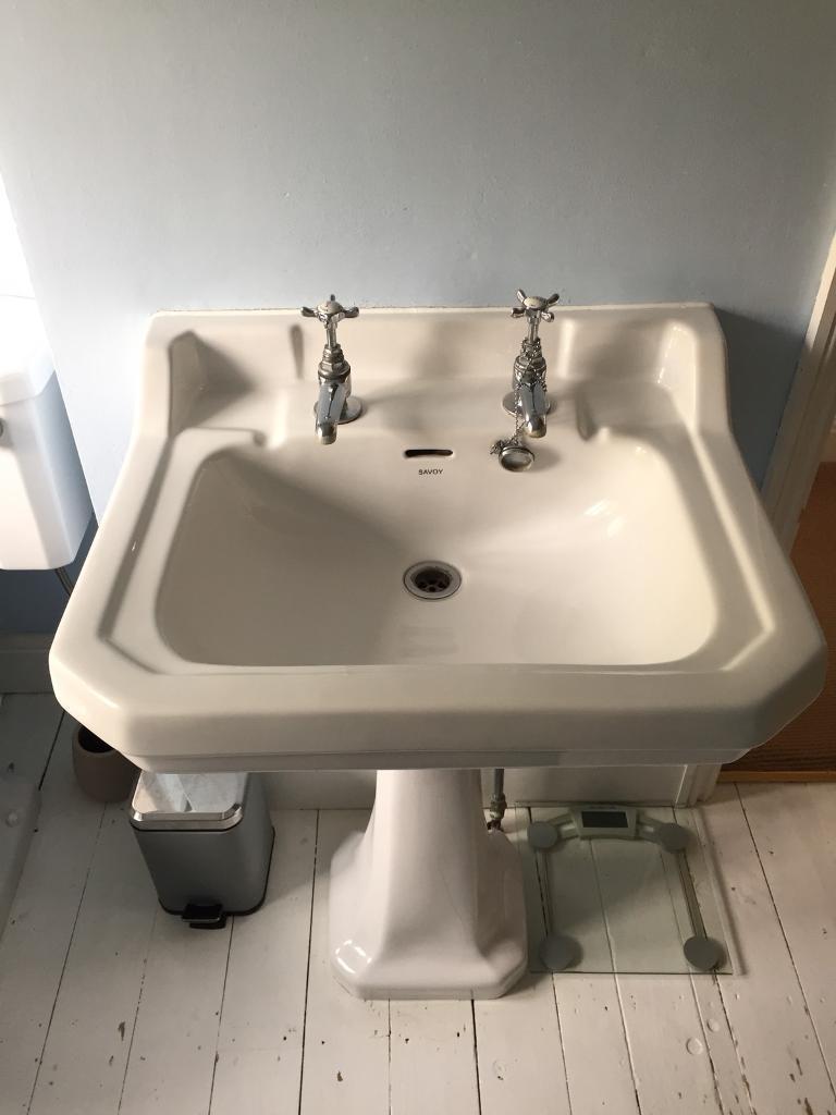 Traditional Bathroom Sink