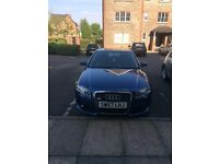 Audi A4 S-LINE NEW MODEL VERY LOW MILES SERVICE HISTORY NOT VW BMW £4750