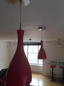 Red hanging lights