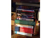 STUDY BOOKS/ TEXT BOOKS GCSE, A LEVEL, KEY STAGE REVISION GUIDES