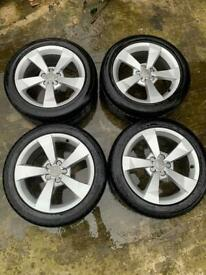 AUDI A1 16 inch ALLOYS WITH 215/45/16 TYRES