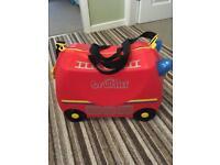 Child's Trunki ride on suitcase