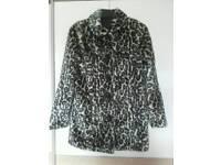 Girls Leopard print coat