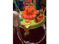 Fisher Price Roarin' Rainforest Jumperoo - Baby Bouncer - Activity Station -