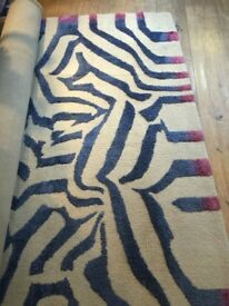 Stunning large Christian LaCroix designer rug