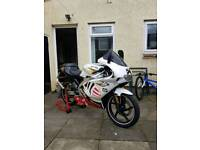 Aprilia rs 50 with 75cc kit