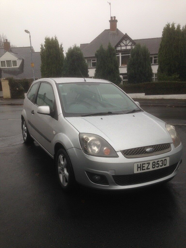 2006 Ford Fiesta 1.25 cheap insurance, well moted
