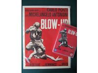 """DVD """"Blow Up"""" by Michelangelo Antonioni + Poster"""