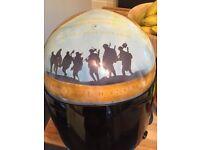 one off arai custom crash helmet
