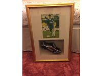 Genuine signed John terry boot
