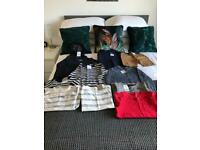 Boy's clothes- ages 4years and 4-5years - all new with tags on mainly next £25