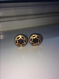 Men's Mont Blanc Cufflinks Rose Gold With Packaging