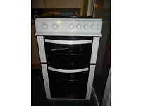 Gas Cooker, white, 50cm, (Logik) Excellent Condition, with instruction manual