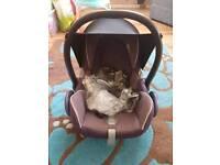 Maxico Baby Car Seat & Raincover