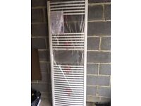 Radiator, Towel radiator, brand new and boxed, curved white 600mm x 1800mm £85
