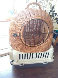 Cat Carrier and Cat Basket/Carrier