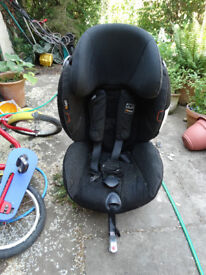 be safe izi combi car seat rear facing not isofix so for use with a seat belt