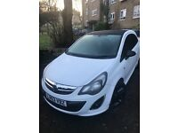 Vauxhall Corsa Limited Edition 1.2 White Great Condition