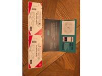 2 Tickets to Anthony Joshua Vs Pulev