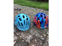 Toddler cycling helmets. £10 each