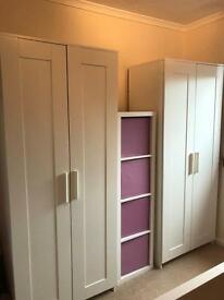 Brimnes Wardrobes (2 available)