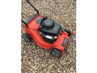 "Lawnmower 40cm/16"" almost brand new petrol Sovereign XSS40A, Rotary lightweight"