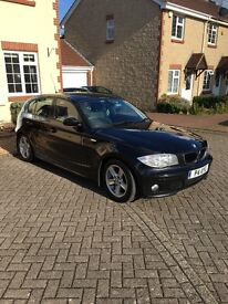BMW 1 series 118d sport, excellent condition, low mileage