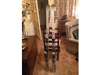 Ski's, Ski Poles & Ski Bag FOR SALE