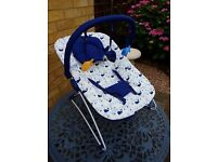 New. Mothercare whale bay bouncer.