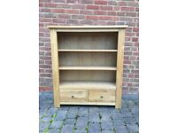 Oak Book Case with drawers